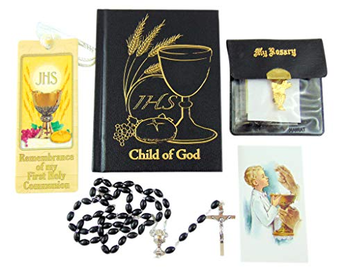 - Westman Works First Holy Communion Boys Set with Missal and Rosary Gift Boxed