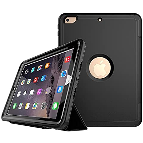 New iPad 2017 iPad 9.7 inch Case, Jessica Ultra Slim Lightweight Smart-shell Stand Cover with Auto Sleep/Wake Function,Non Slip Surface,? Hard Back Cover for Apple New iPad (Urban Armor Ipad 3)