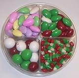 Scott's Cakes 4-Pack Reindeer Corn, Christmas Jordan Almonds, Christmas Malt Balls, & Chocolate Jordan Almonds
