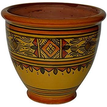 Spanish Terracotta Wall Planter 21 cm X 18 cm Spanish Handmade Ceramic Pottery