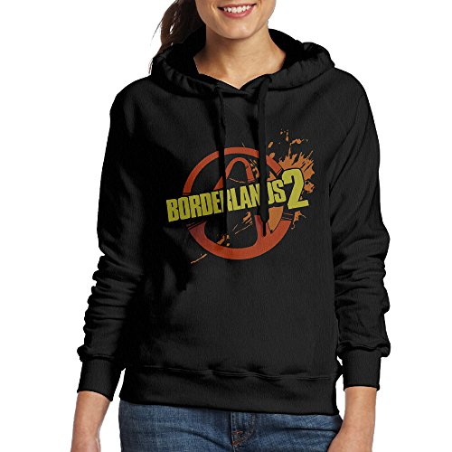 Women Borderlands 2 Games Label Cool Hoodies Hooded Sweat...