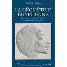 Géometrie égyptienne: contribution de l'