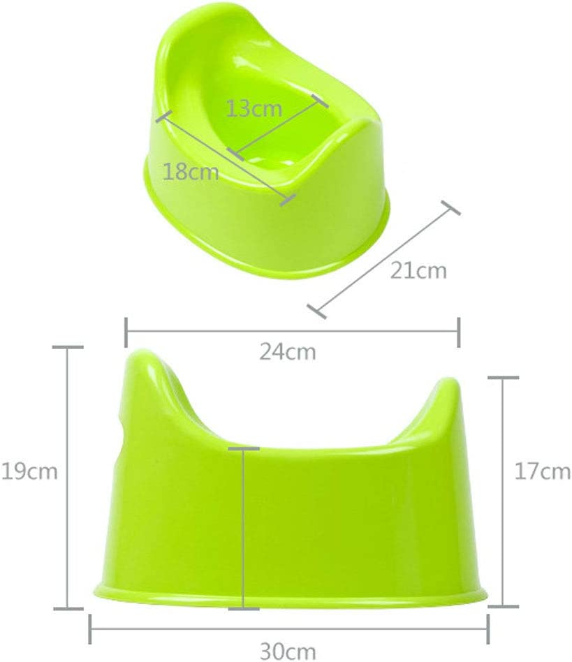 Toddler Lovely Potty Toilet Portable Comfort Potty Seat Toilet Urinal Potty for Boys and Girls Red