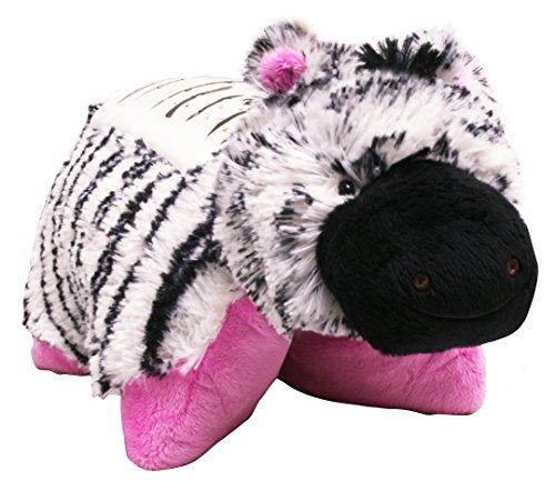 Pillow Pets Dream Lites Stuffed Animals - Zippity Zebra 11""