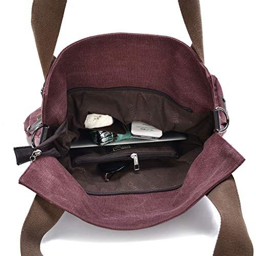 femmes Sac bandoulière mode bandoulière la Sac Lxf20 à l'eau à Sac à à Brown imperméable femmes bandoulière pour pour femmes à pour qBnRnAOx7