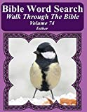 Bible Word Search Walk Through The Bible Volume 74: Esther Extra Large Print
