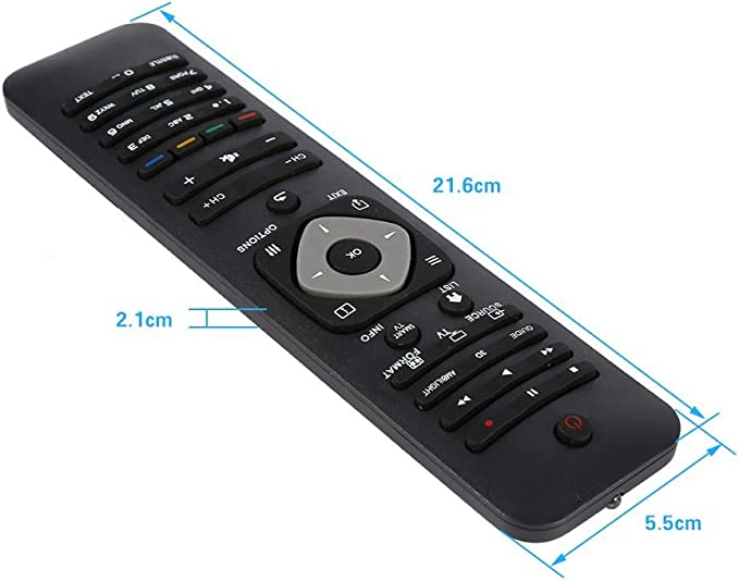Mando a distancia universal para Philips Smart TV, mando a distancia de repuesto para televisores LED de la marca Philips: Amazon.es: Hogar