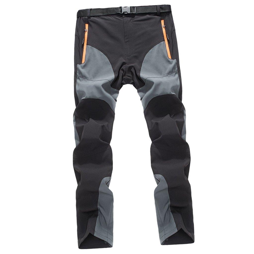 Escursioni Campeggio MagiDeal Pantaloni da Trekking Uomo Protezione UV Ideale per Sport