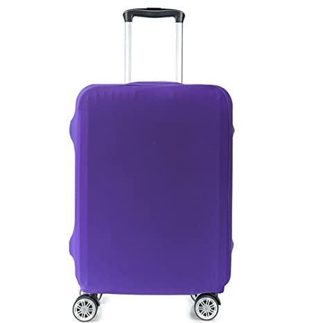 3a27025fe8b0 HoJax Spandex Travel Luggage Protector Suitcase Covers Fits 23-25 Inch  Luggage Purple