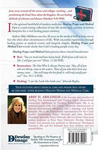 Healing Prayer and Medical Care: Abby H  Abildness: 9780768435900
