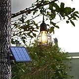 Metal Shade Solar Powered Pendant Light E27