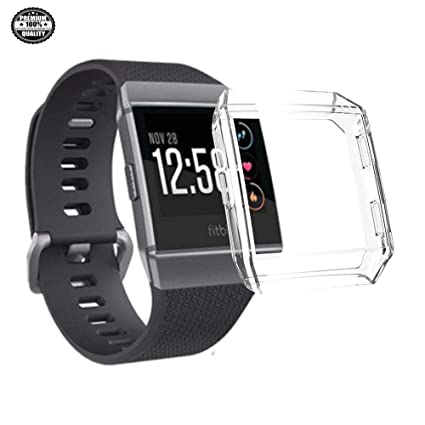 Amazon.com: New Screen Protector Case for Fitbit Ionic, Soft ...