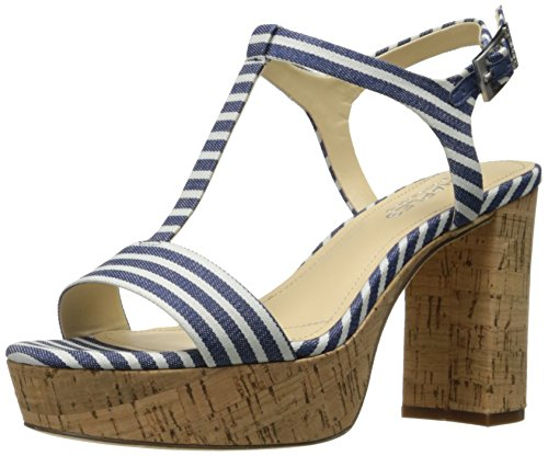 Dress Sandal Platform by Charles Cloth Miller Stripped David Charles Women's 11w4AY