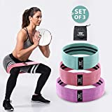 WOOSL Resistance Bands Loop Exercise Bands Booty Bands Workout Bands Hip Bands Wide Resistance Bands for Legs and Butt Resistance Bands for Legs and Butt Booty Band Hip Resistance Band