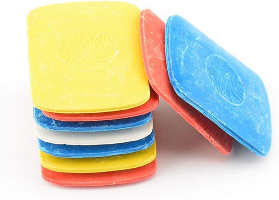 giallo Matita a gesso sartoriale cucito e disegno di studenti 4 pezzi per marcatori fai da te rosso e blu bianco