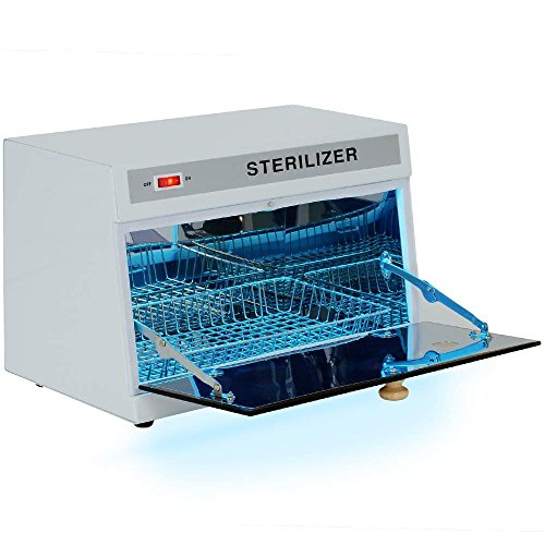 Salon Sundry Professional Tabletop Ultraviolet UV Tool Sterilizer Cabinet ()