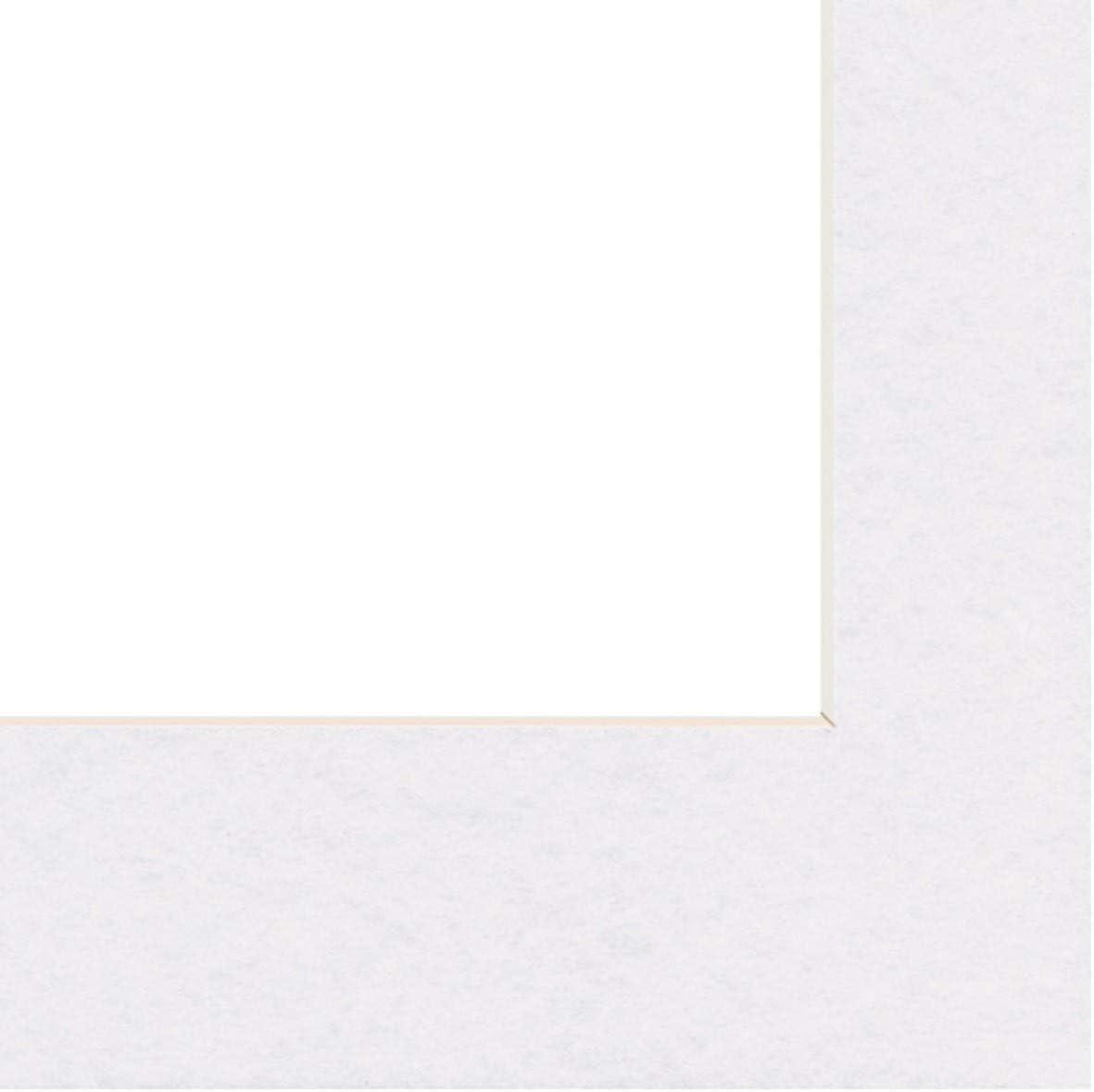 blanc arctique 50 x 70 cm Hama Passe-partout Premium