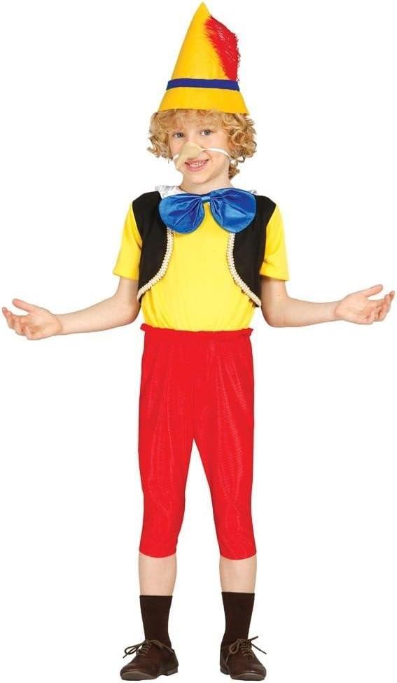 disfraz de marioneta (pinocho)7/9: Amazon.es: Juguetes y juegos