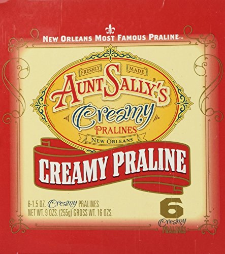Aunt Sally's Creamy Original Pralines 1.5 ounce/ Pack of 6 -