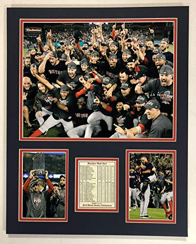 Sox Boston Red Plaque - Legends Never Die 2018 Boston Red Sox- World Series Champions - Mound 16