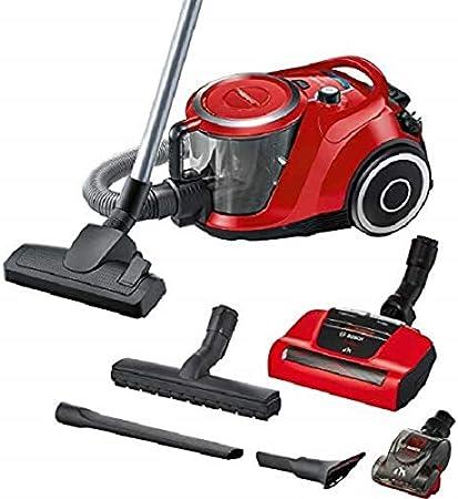 Bosch Serie 6 ProAnimal BGS41PET1 Aspirador Trineo sin Bolsa, 2,4 l, Nivel de Ruido 72 dB, Color Rojo: Amazon.es: Hogar