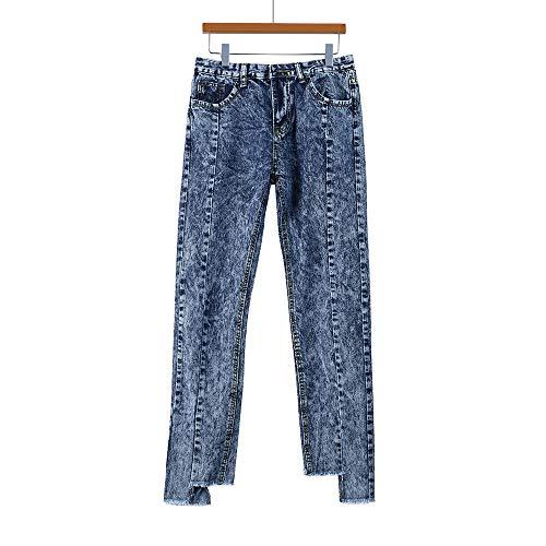 Skinny Taille Femme Automne Denim Stretch Slim Dames Slim Chic pais Haute Hiver Jeans Pantalons 2018 Bleu Bleu Pants Crayon fit Femme Moulant Jeans Femme Mode Jeans Trousers Koly 58dvqn8F