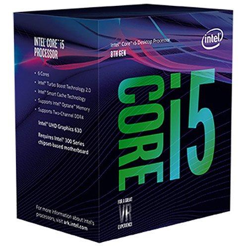 Intel Core i5-8400 Desktop Processor 6 Cores up to 4.0 GHz  LGA 1151 300 Series 65W