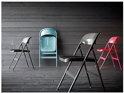 IKEA FRODE Chaise pliante, rouge: : Cuisine & Maison