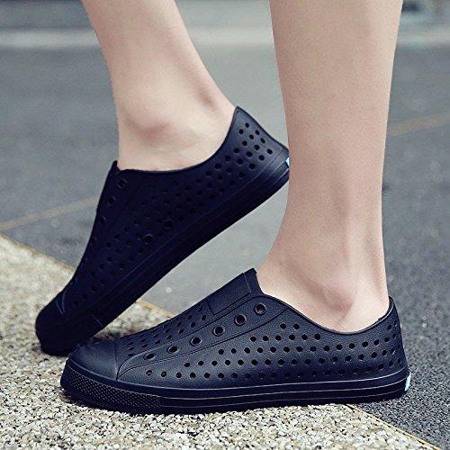 sandali da da uomo e spiaggia Foro uomo estivi drag da baotou sandali ciabatte sandali antiscivolo da Nero uomo uomo da scarpe scarpe marea WFL wqfxXISq