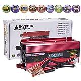2000W Power Inverter 12V-110V Portable Car LED Charger Converter