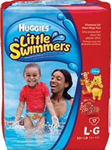 Huggies® Baby Heavy Absorbent Baby Swim Diaper Pull On Disposable Large Over 32 lbs PK/10
