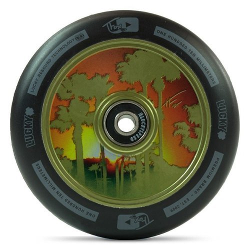 Lucky Tanner Fox TFox Signature 100mm Wheels Guac Green (Pair)