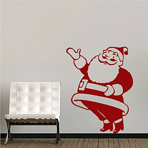 funny santa clause wall decals