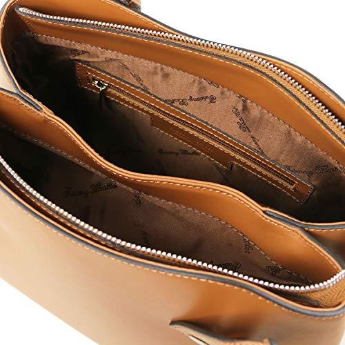 Cognac Cognac Tuscany Flora Sac à Main Cuir Leather en xBT0wzB8q
