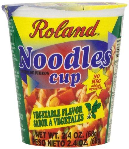 Roland Noodles Vegetable Flavor Ounce