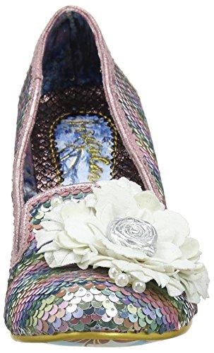 Fever Women's Heels Irregular White Toe White Multi Choice Closed Hey CfStxq