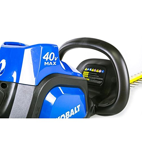 Kobalt 40-Volt Max 24-in Dual Cordless Hedge Trimmer (Battery Included) by Kobalt (Image #3)