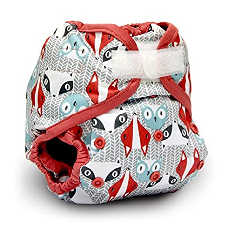 Rumparooz One Size Cloth Diaper Cover Aplix, Bonnie KRCOVRXOS-P116