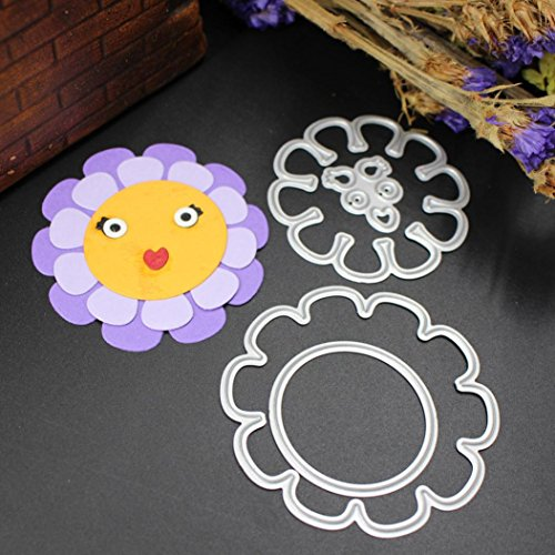 2019 Newest Kawaii Metal Die Cutting Dies Handmade Stencils Template Embossing for Card Scrapbooking Craft Paper Decor by E-Scenery -