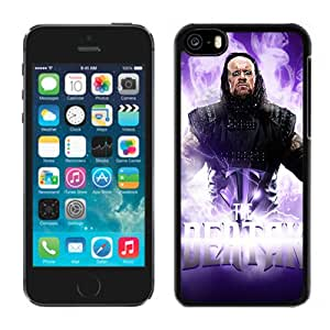 Unique Design iPhone 5C Cover Wwe Superstars Collection Wwe 2k15 The Undertaker 10 in Black iPhone 5C Protective Phone Case