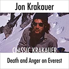 Death and Anger on Everest Audiobook by Jon Krakauer Narrated by Scott Brick