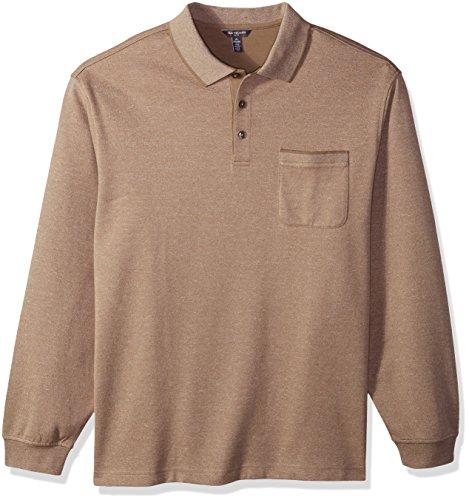 Van Heusen Mens Big and Tall Flex Jaspe Polo Shirt