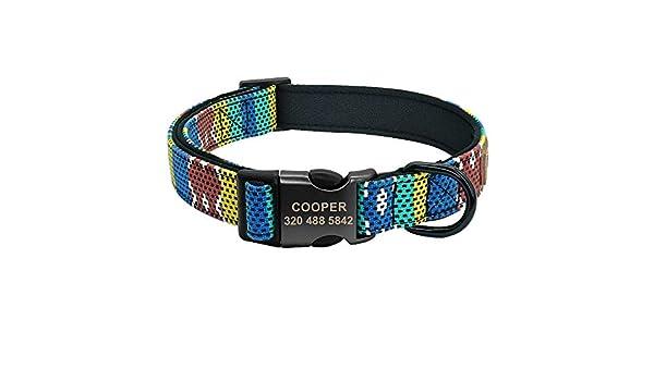 MAOBANG Collar Collar para Perros Cachorro Collar para Mascotas ...