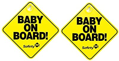 "Safety 1st ""Baby On Board"" Sign, 2-Pack"