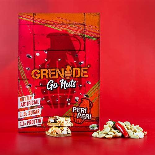 Grenade Carb Killa Go Nuts Bar, 15 Riegel