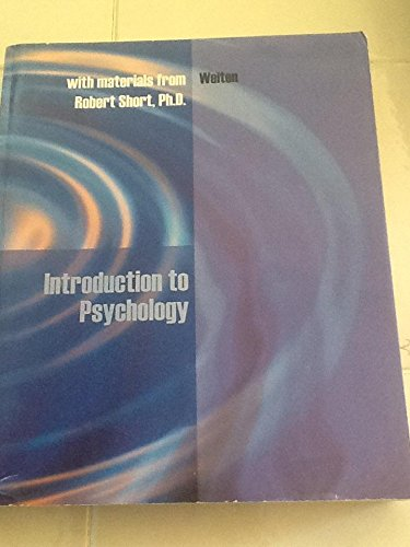 Introduction to Psychology with materials from Robert Short