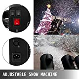 LOVSHARE Snowflake Machine 2000W Snow Effect