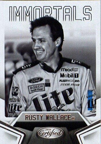 (2016 Certified Racing #82 Rusty Wallace Racing Card)