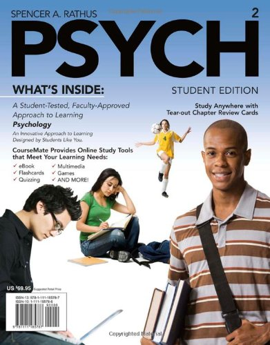 PSYCH (with Review Cards, CourseMate Printed Access Card) (Engaging 4ltr Press Titles in Psychology) -