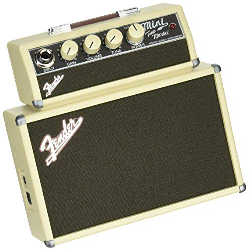 (Fender Mini Tonemaster Battery Powered Electric Guitar Amp)
